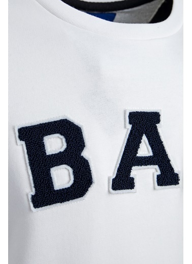 Bad Bear Sweatshirt Beyaz